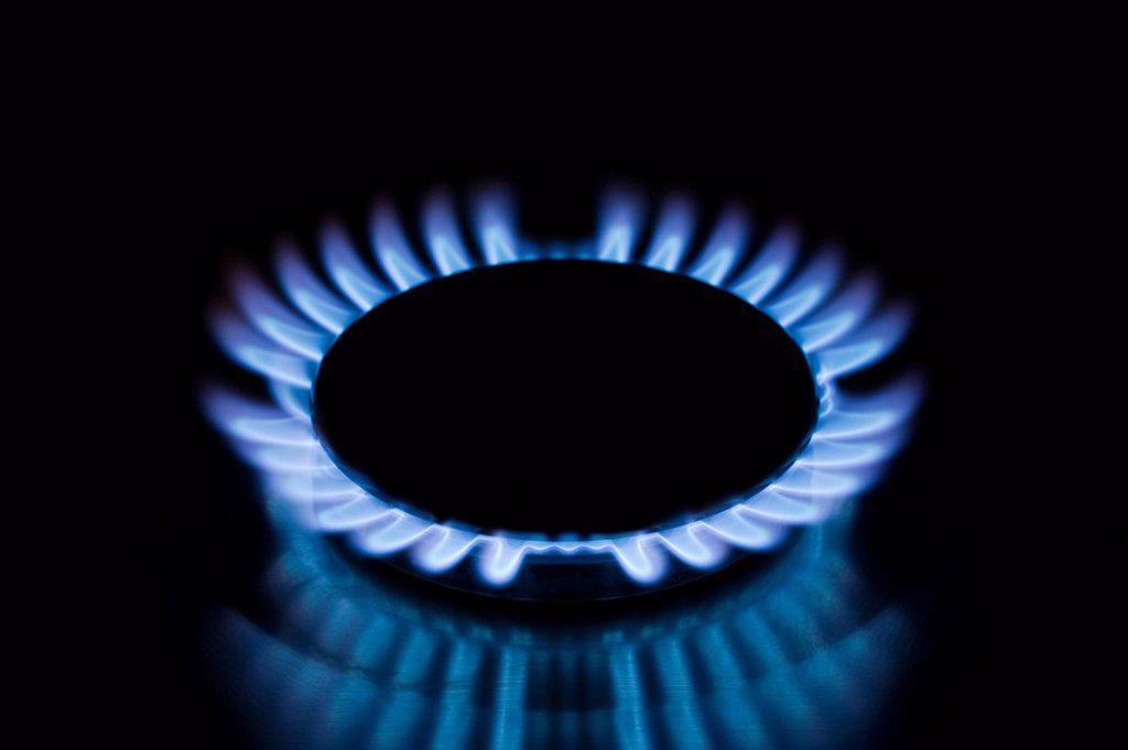 Stock Photo: 1439R-1118929 Gas hob