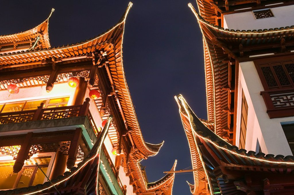 Stock Photo: 1439R-1119067 Yu garden shanghai