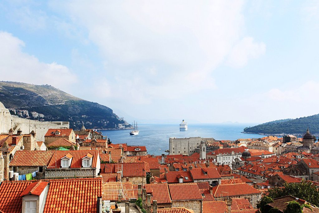 Buildings in dubrovnik : Stock Photo