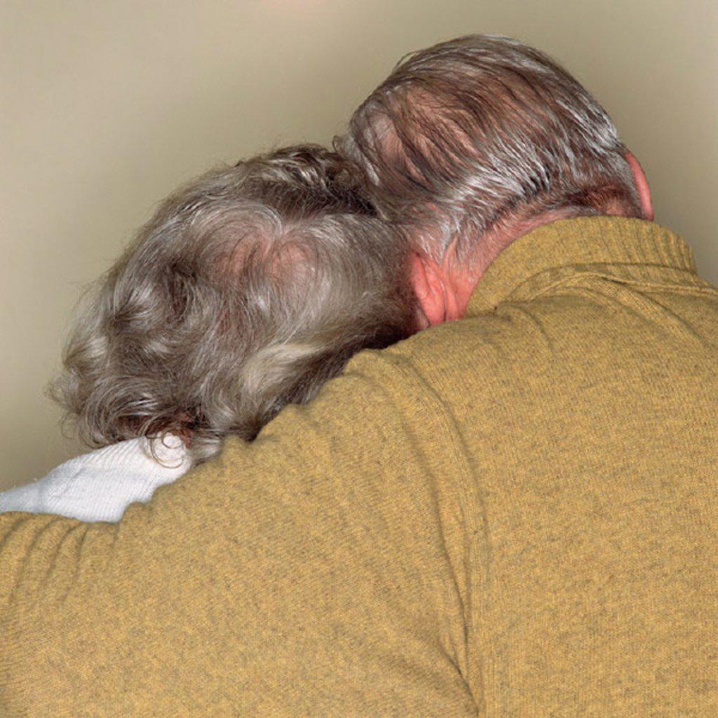 Stock Photo: 1439R-1124402 Loving senior couple
