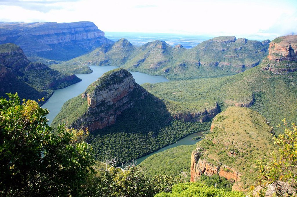 Stock Photo: 1439R-1127046 Blyde river canyon, south africa