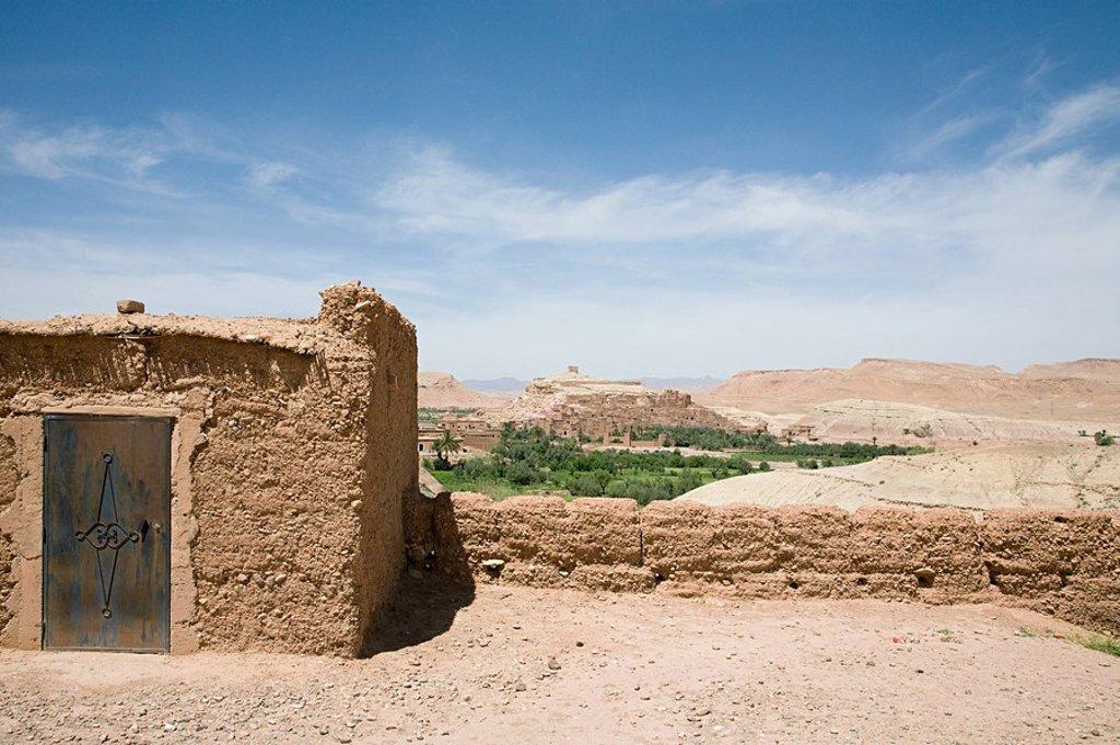 Ait Benhaddou, Souss_Massa_Draa, Morocco : Stock Photo