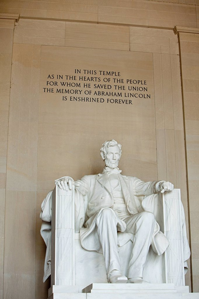 Lincoln memorial, Washington DC, USA : Stock Photo