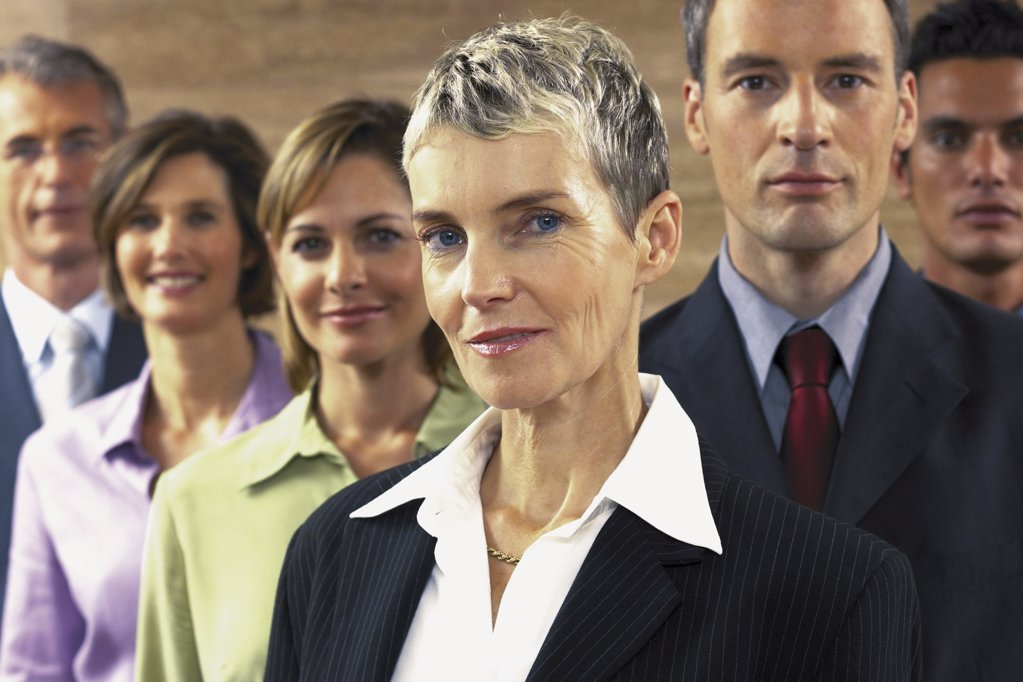 Stock Photo: 1439R-113003 Portrait of businesspeople