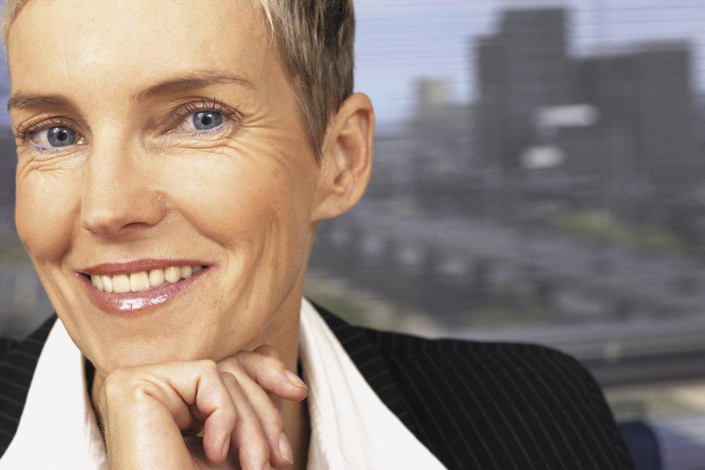 Portrait of businesswoman  : Stock Photo