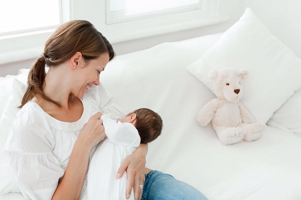 Mother with baby : Stock Photo