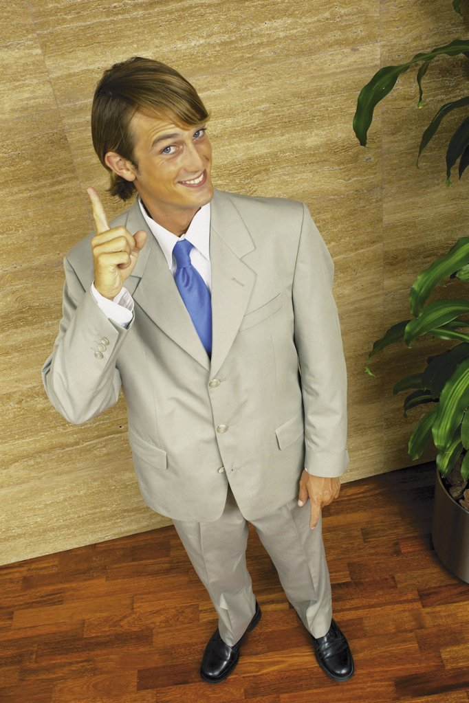 Happy businessman : Stock Photo
