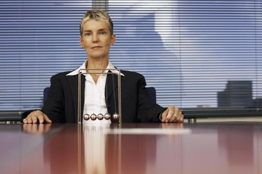 Stock Photo: 1439R-113076 Portrait of businesswoman