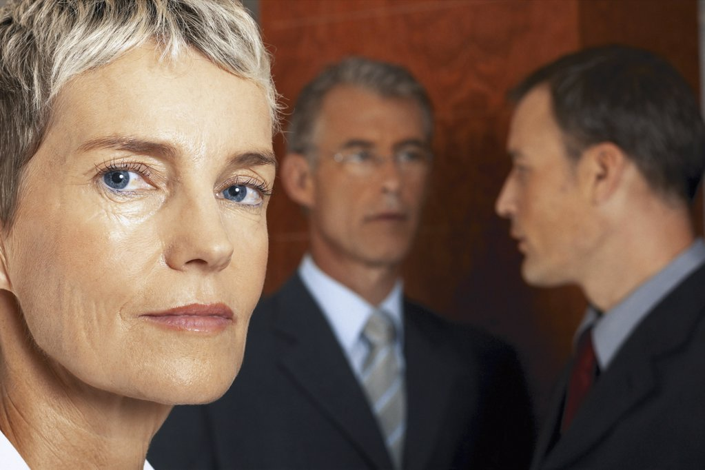 Stock Photo: 1439R-113083 Portrait of businesswoman