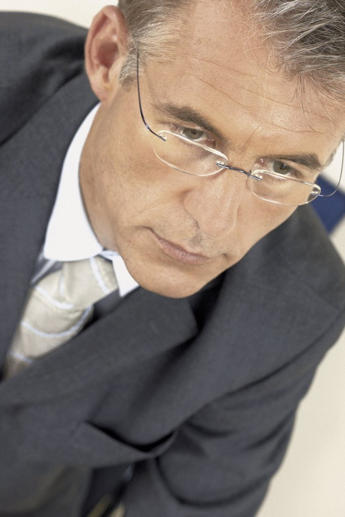Stock Photo: 1439R-113085 Portrait of businessman