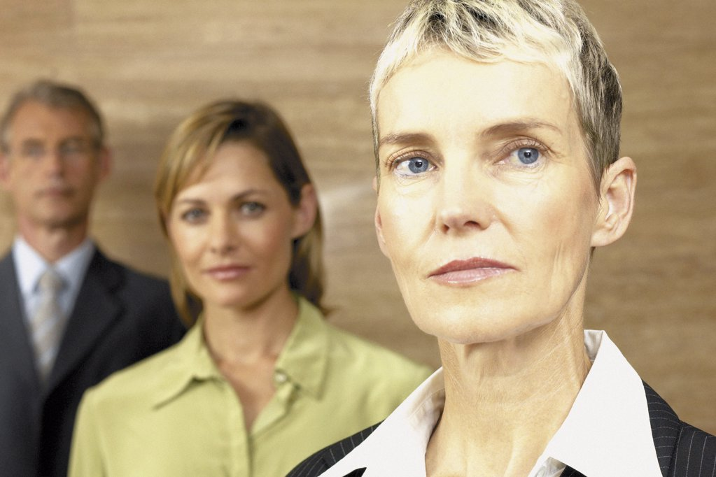 Stock Photo: 1439R-113094 Portrait of businesspeople