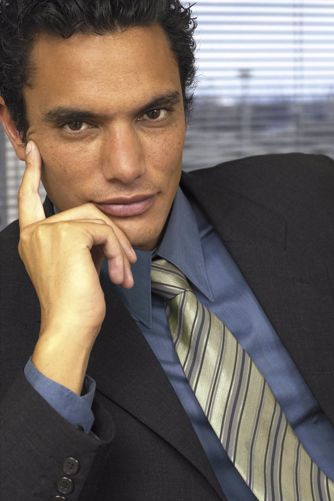 Stock Photo: 1439R-113098 Portrait of businessman