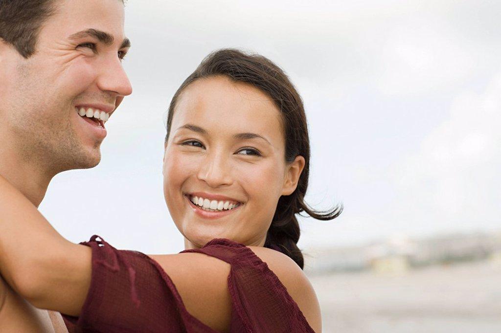 Stock Photo: 1439R-1131899 Happy couple
