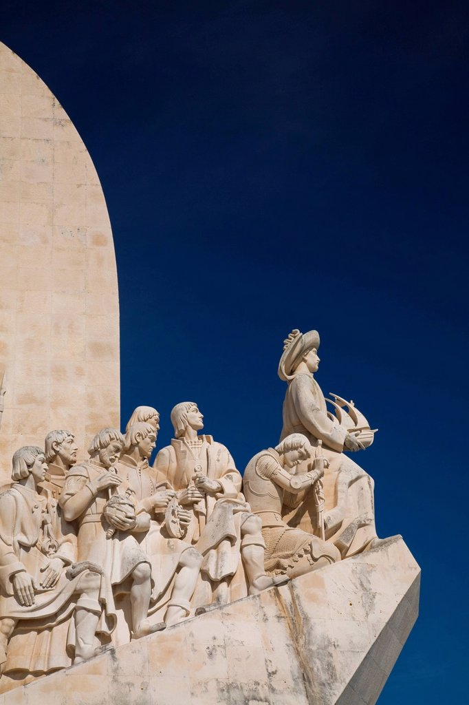Stock Photo: 1439R-1134314 Monument to the Discoveries, Lisbon, Portugal
