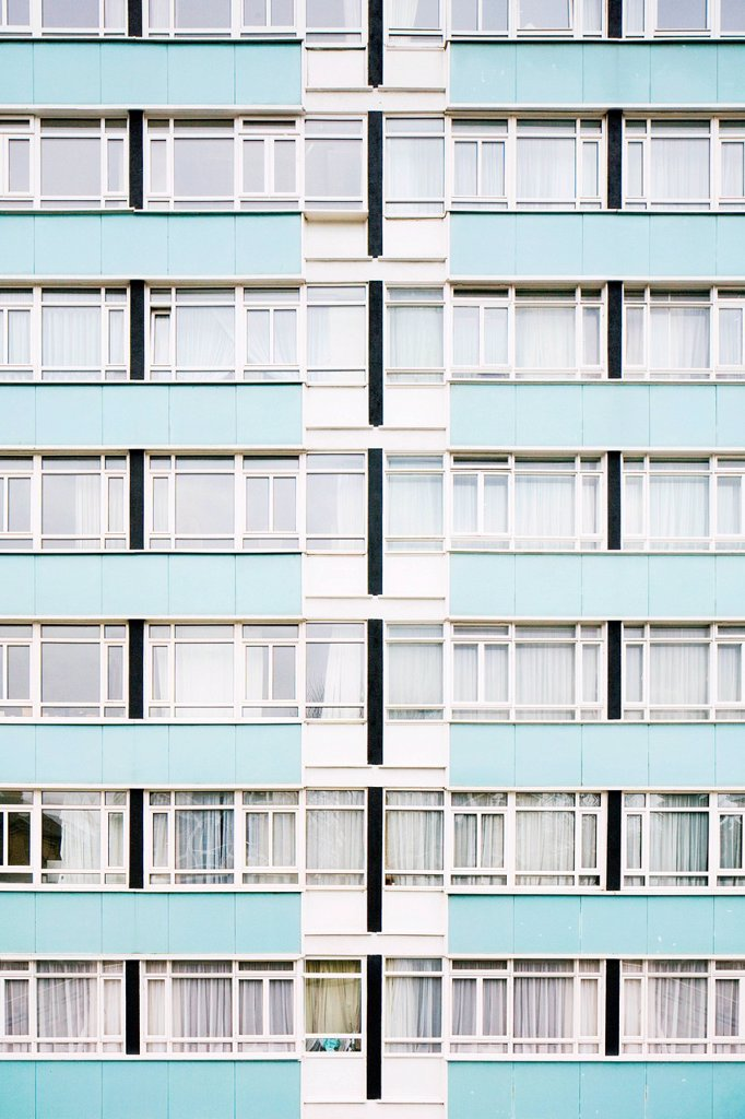 High rise residential building : Stock Photo