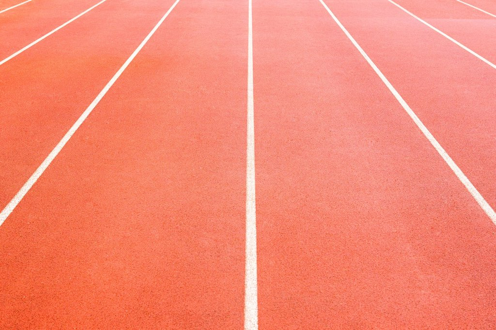 Stock Photo: 1439R-1141921 Running track