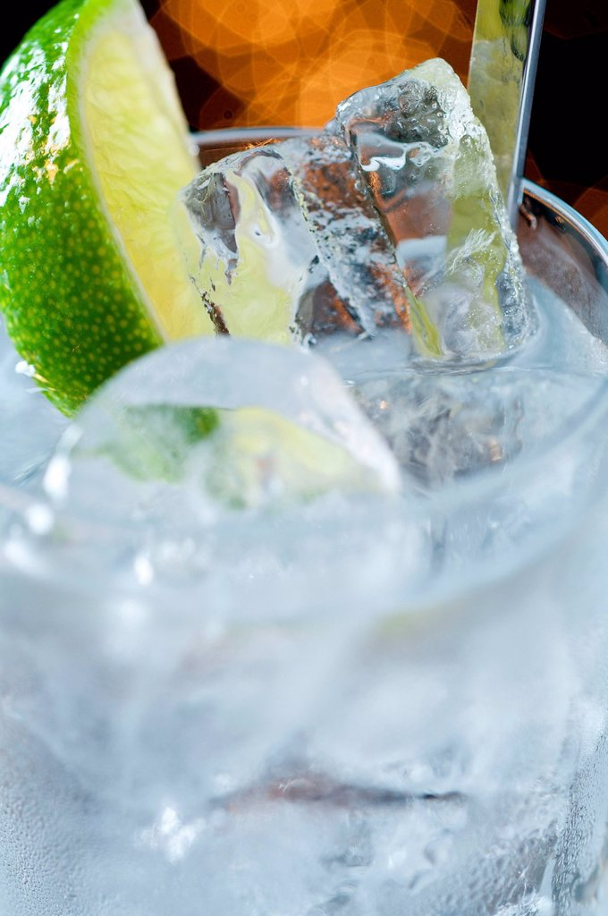 Gin and tonic : Stock Photo