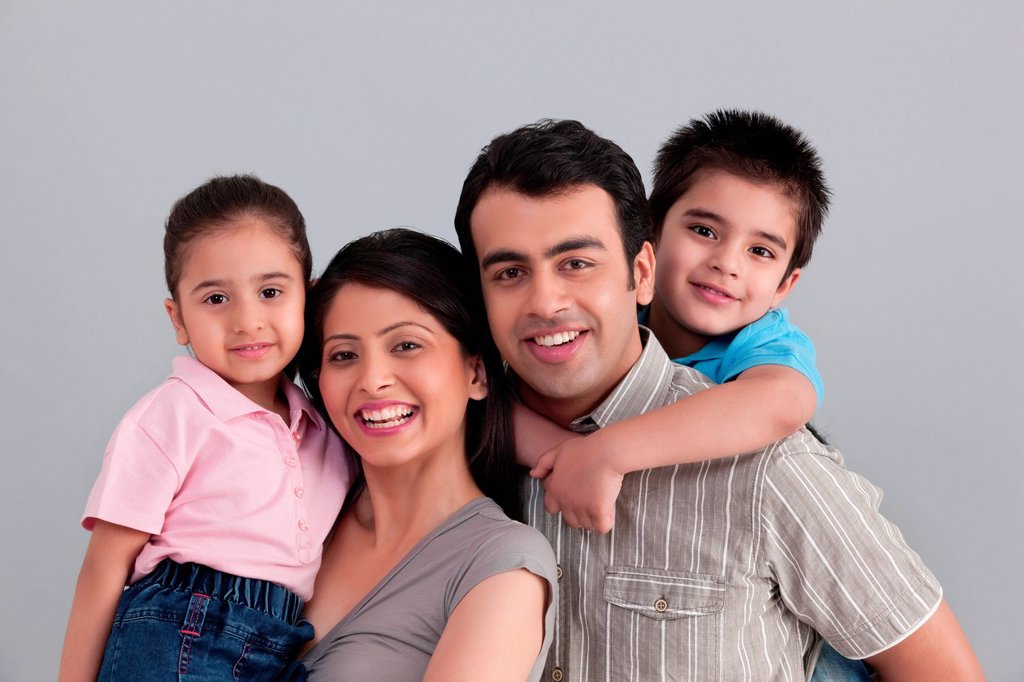 Stock Photo: 1439R-1146082 Portrait of family