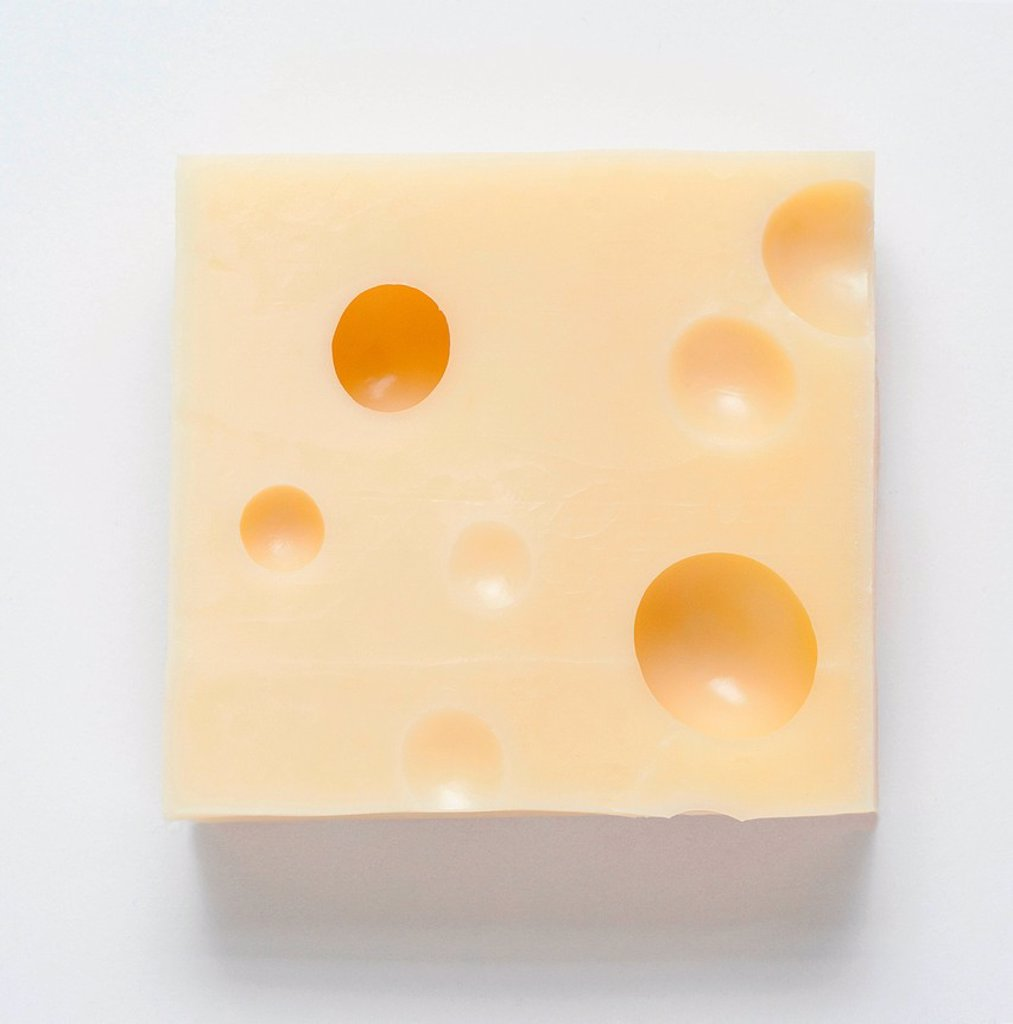 Stock Photo: 1439R-1147409 Chunk of cheese