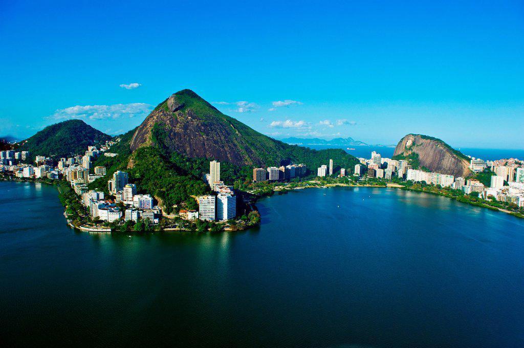 Stock Photo: 1439R-1148481 Lagoa, Rio de Janeiro, Brazil