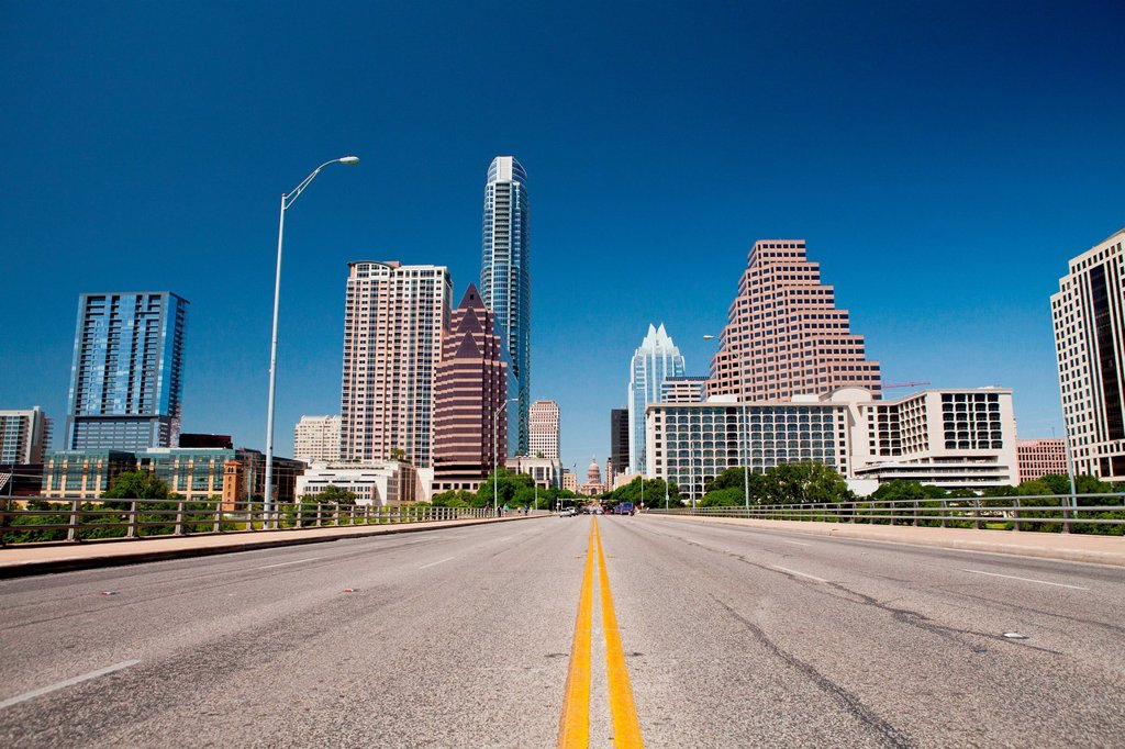 Cityscape of Austin, Texas, USA : Stock Photo