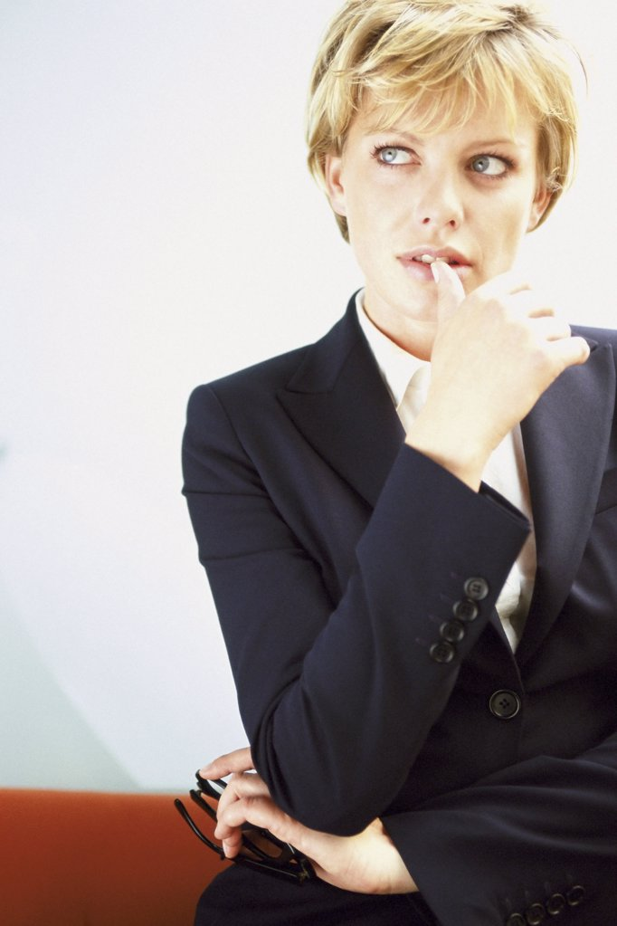 Stock Photo: 1439R-117024 Portrait of a businesswoman