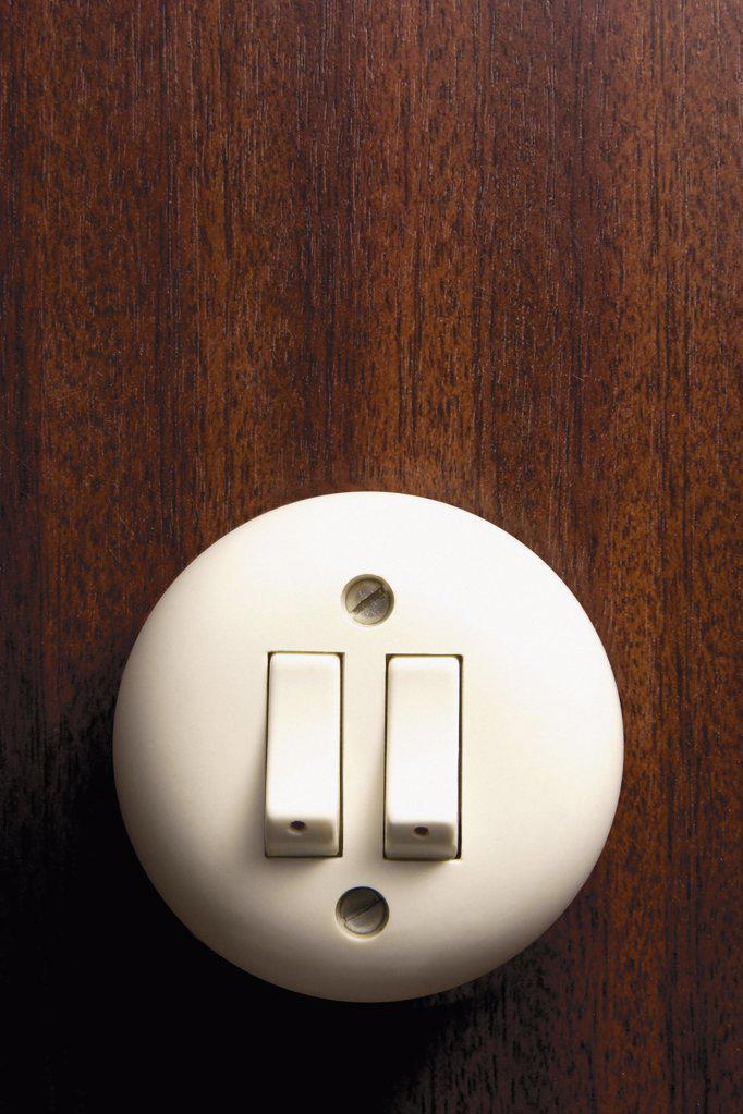 Stock Photo: 1439R-126028 Light switch