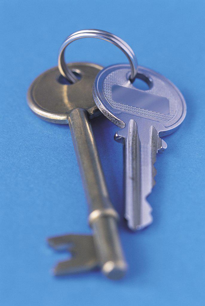 Stock Photo: 1439R-16007 Set of keys