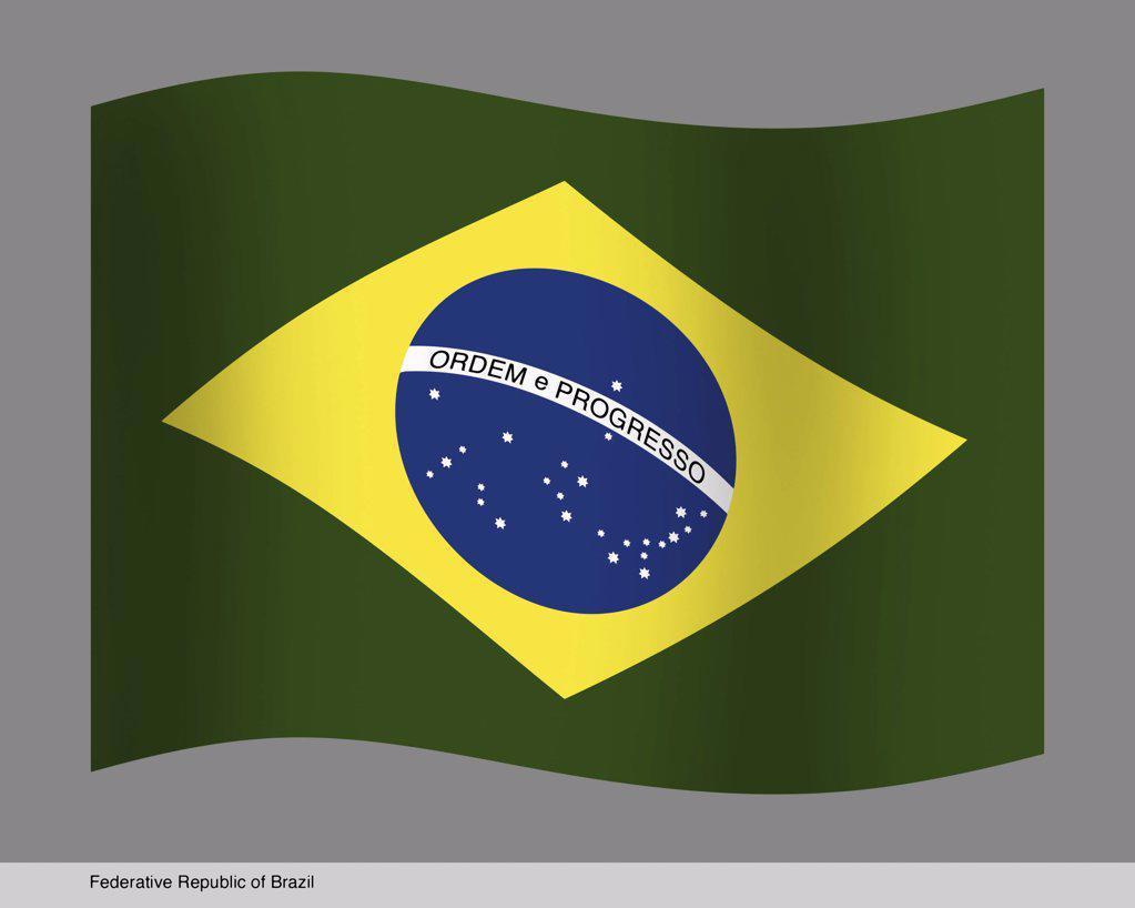 Stock Photo: 1439R-204052 Federative Republic of Brazil