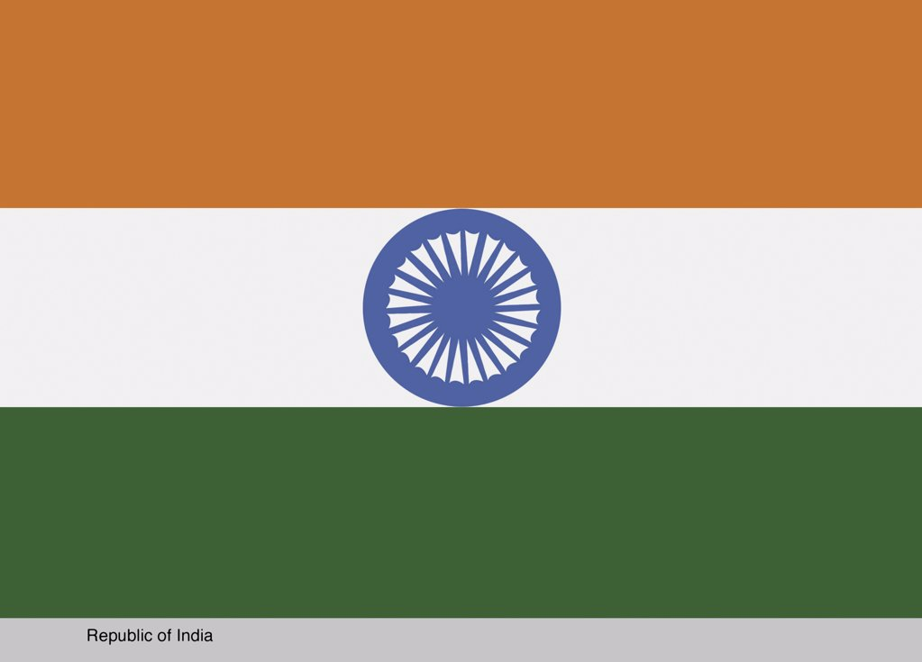 Republic of India : Stock Photo