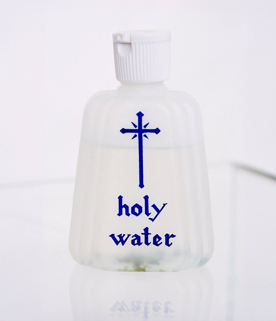 Holy water : Stock Photo
