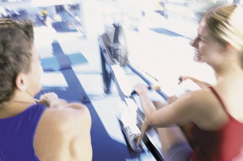 Stock Photo: 1439R-67068 People rowing
