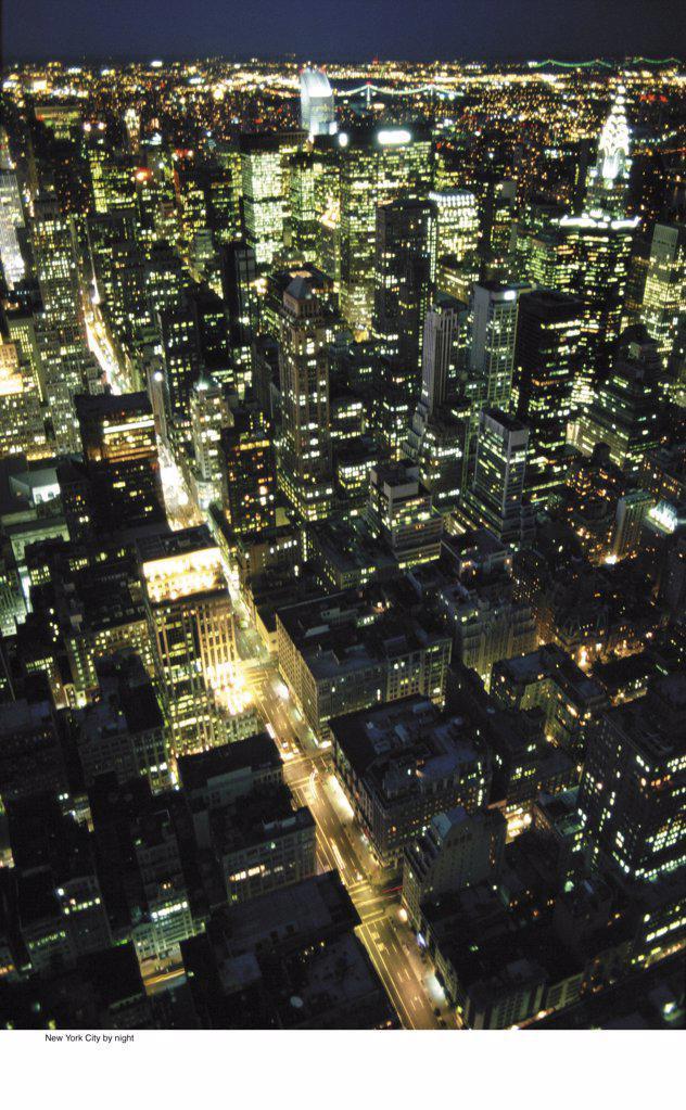 New York City by night : Stock Photo