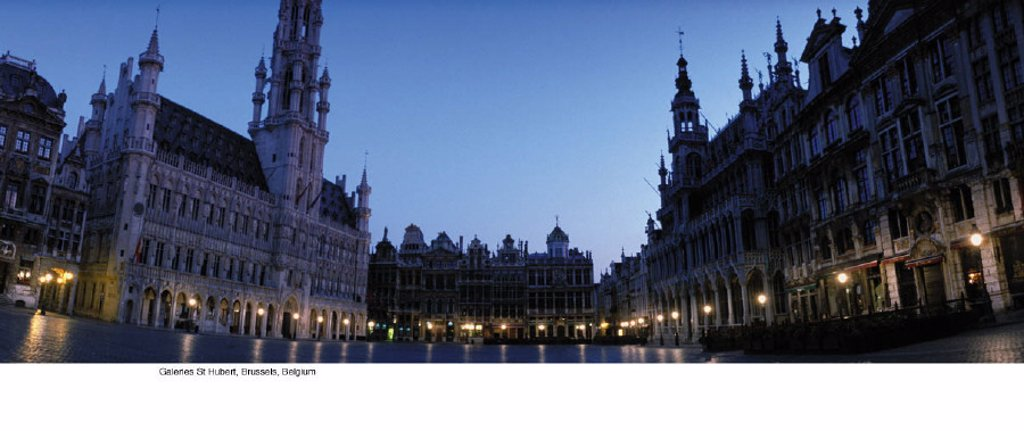 Stock Photo: 1439R-701016 Galeries St Hubert, Brussels, Belgium