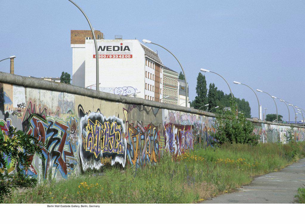 Stock Photo: 1439R-701033 Berlin Wall Eastside Gallery, Berlin, Germany