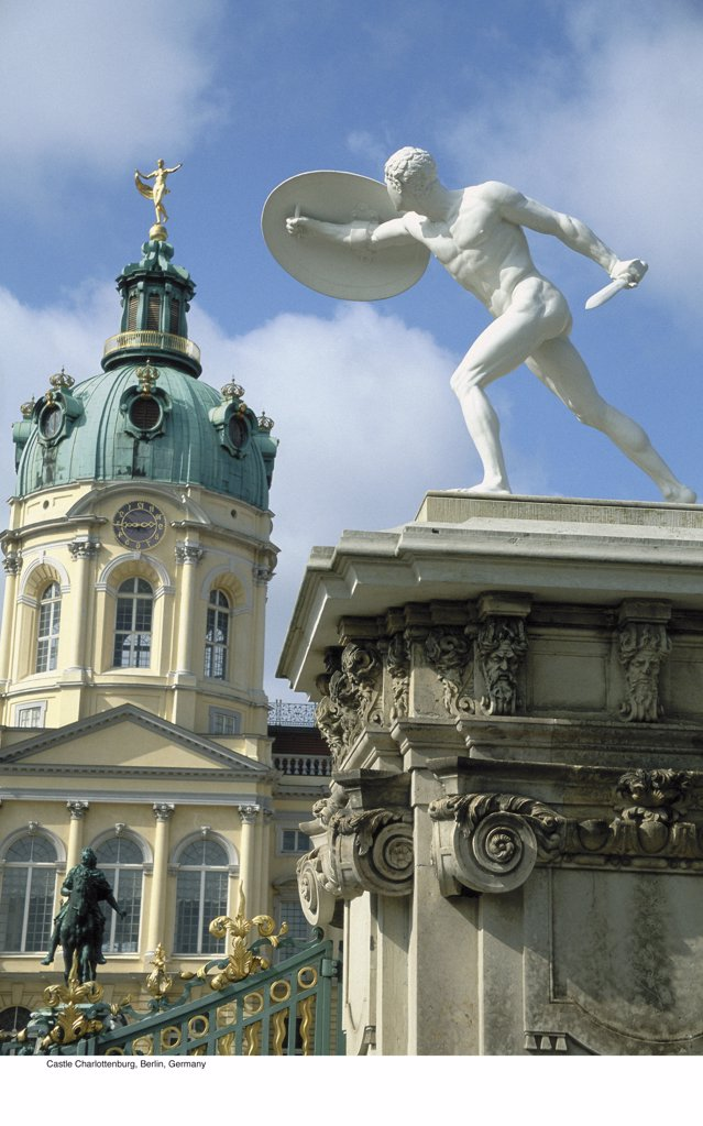 Stock Photo: 1439R-701051 Castle Charlottenburg, Berlin, Germany