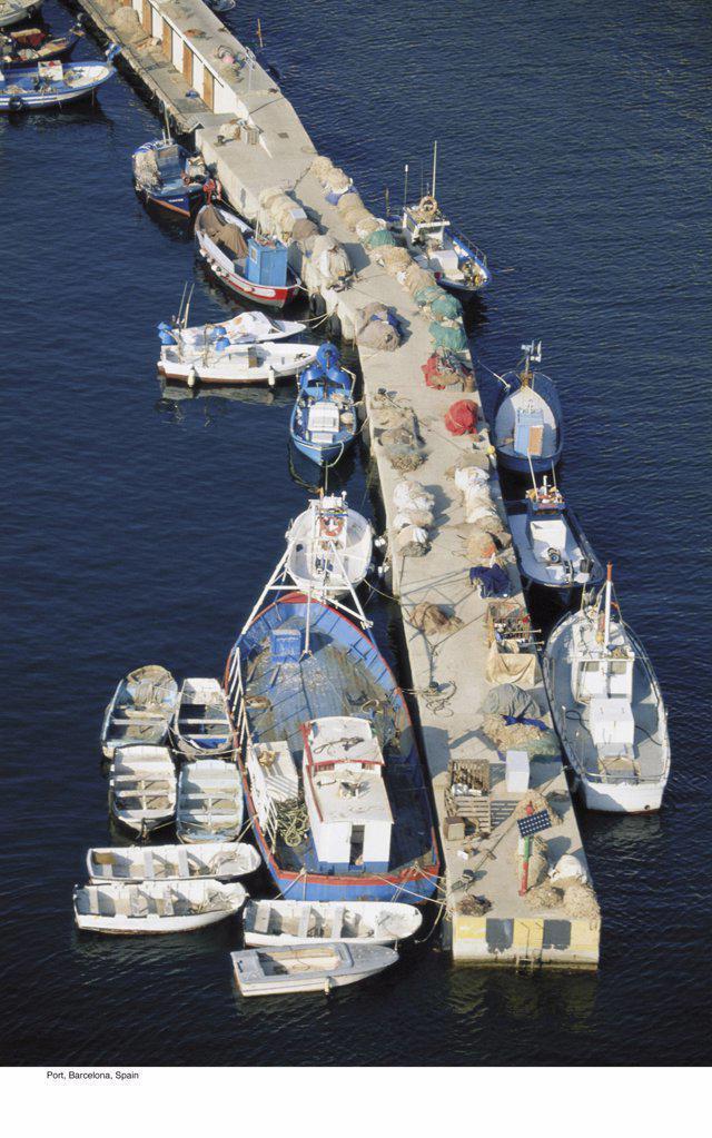 Port, Barcelona, Spain : Stock Photo