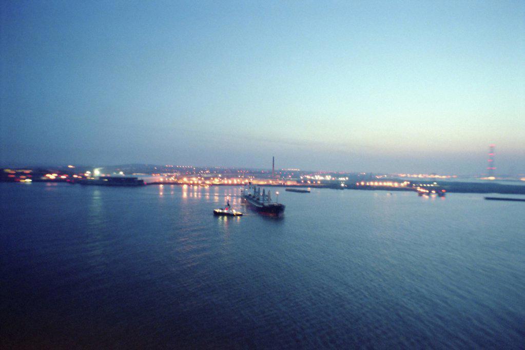 Ship at sea : Stock Photo