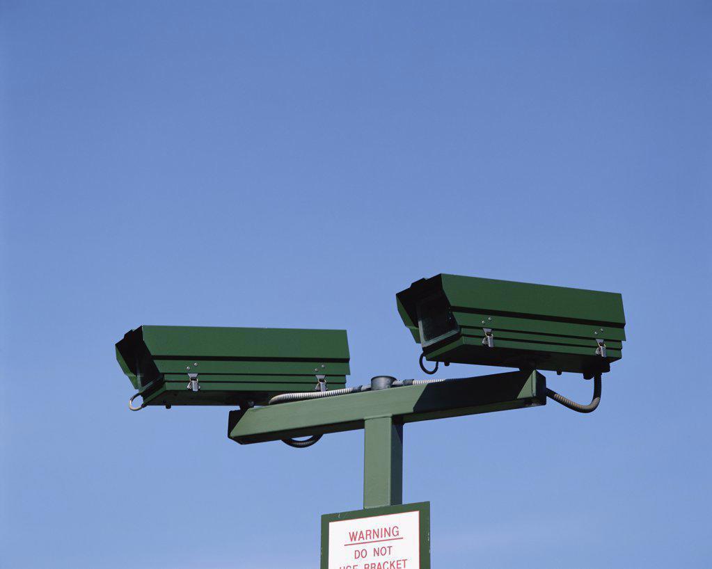 Stock Photo: 1439R-805028 CCTV camera
