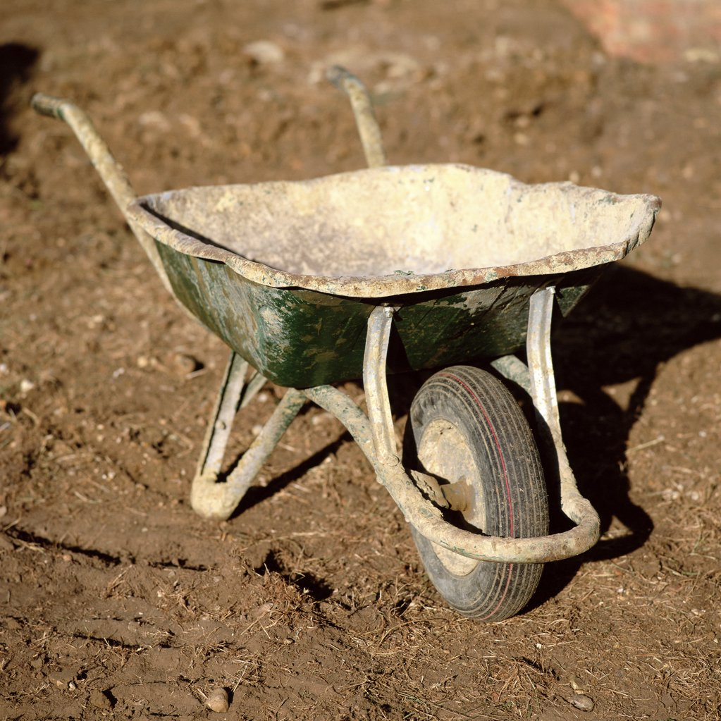 Wheelbarrow : Stock Photo