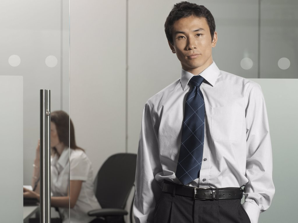 Stock Photo: 1439R-990221 Office manager
