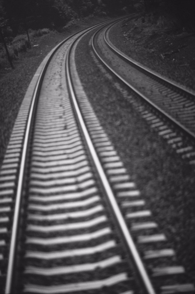 Railway tracks : Stock Photo