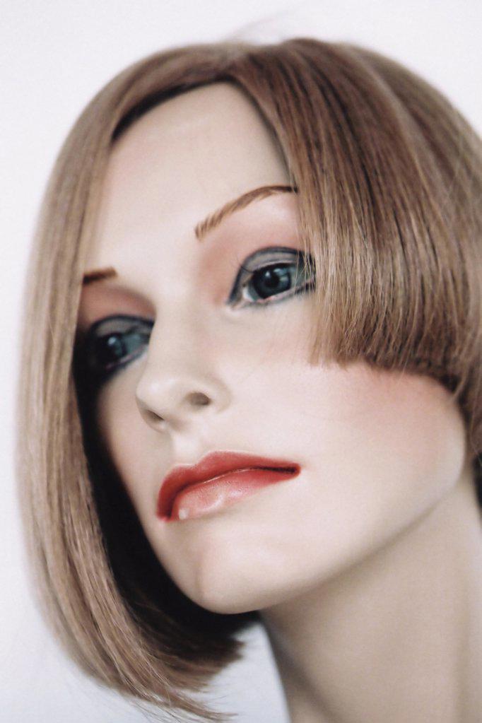 Stock Photo: 1439R-990772 Female mannequin face