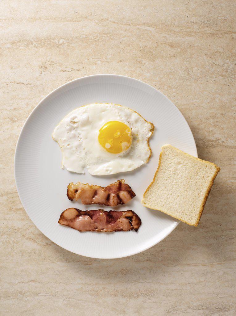 English breakfast on table : Stock Photo