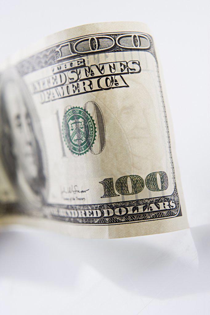 Stock Photo: 1439R-997761 One hundred dollar bill