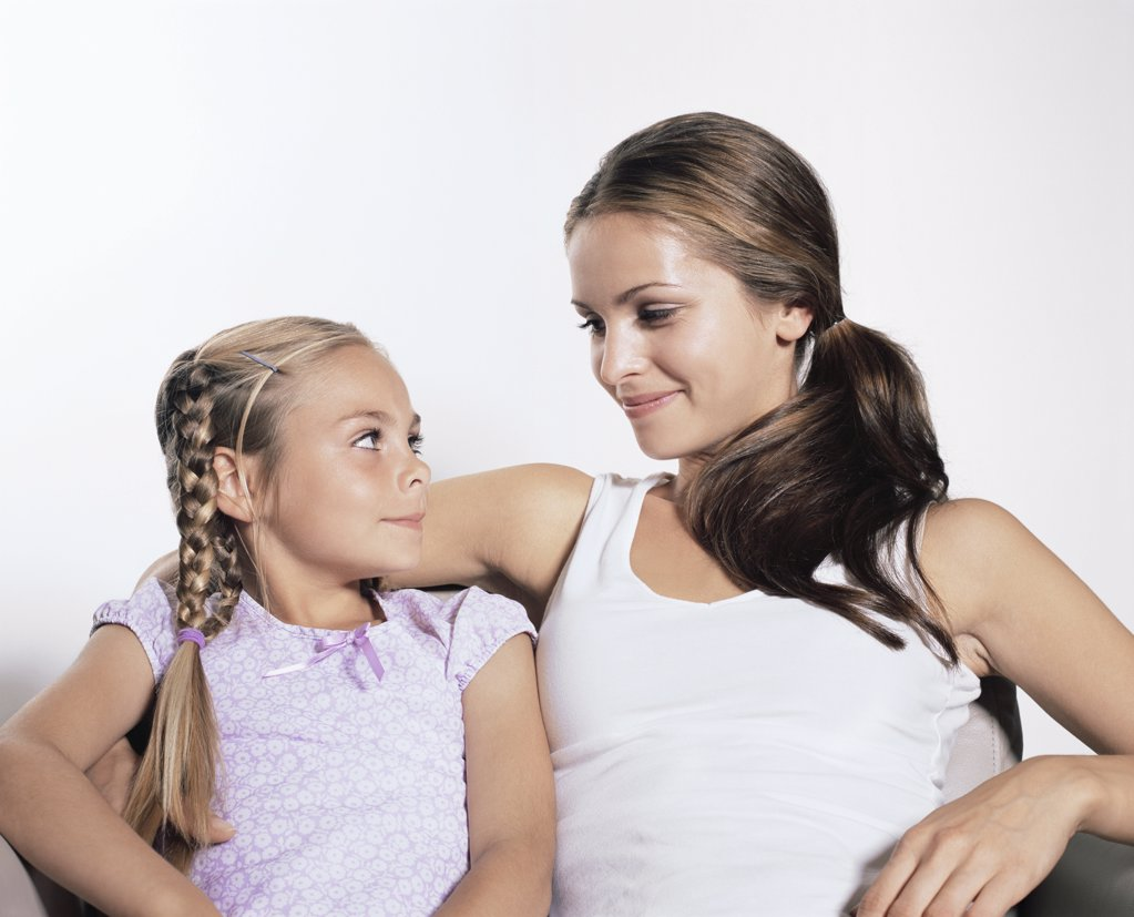 Stock Photo: 1439R-999717 Mother and daughter