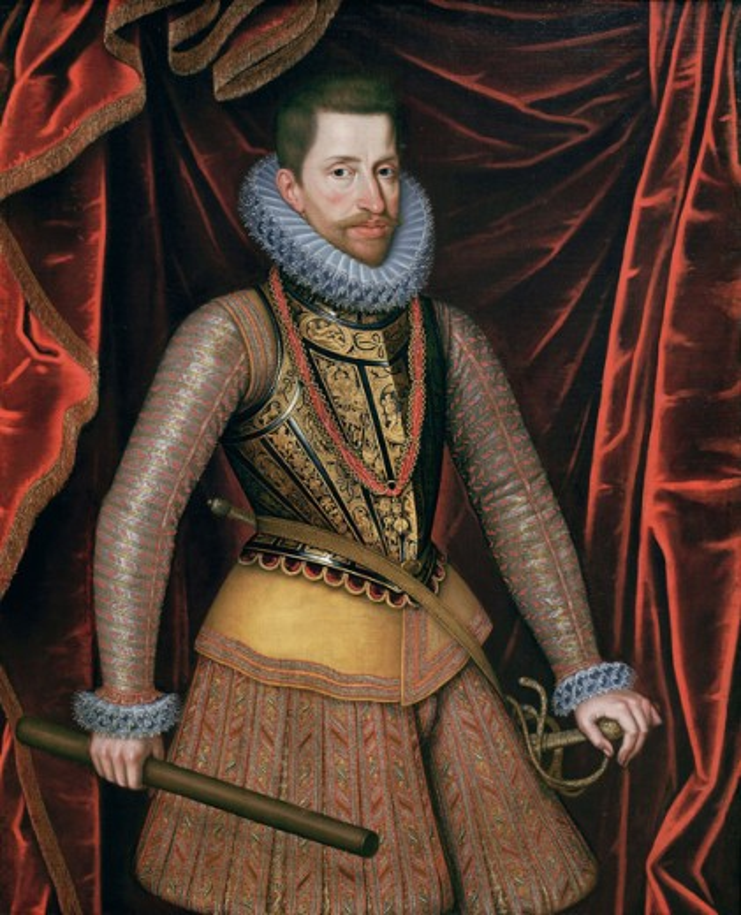 Stock Photo: 1443-104 Archduke Albert Vll of Austria ca.1596/99 Otto van Veen (1558-1629 Flemish) Oil on canvas Kunsthistorisches Museum, Vienna, Austria