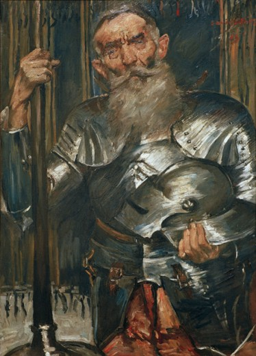 Old Man in Knight's Armor