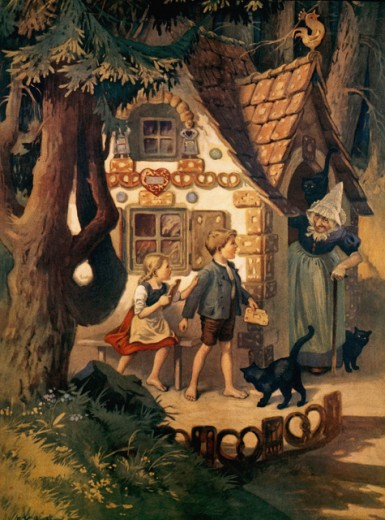 Stock Photo: 1443-1067 Hansel & Gretel