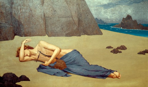 Stock Photo: 1443-1084 Orpheus' Lamentation